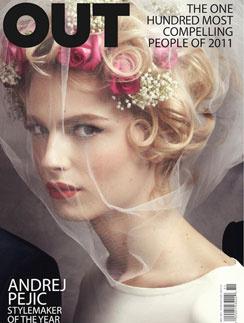Обложка журнала OUT