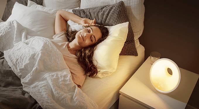 Световой будильник от Philips: полноценный сон и мягкое пробуждение