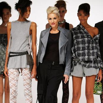 Модный дизайнер Гвен Стефани готовит рекламную кампанию для своей линии одежды.