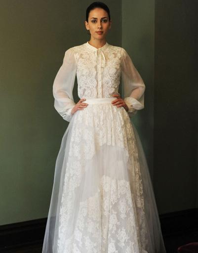 Свадебное платье Temperley London 2014