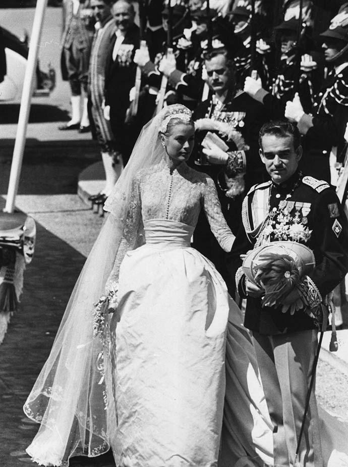 Свадьба Грейс Келли и князя Ренье III фото
