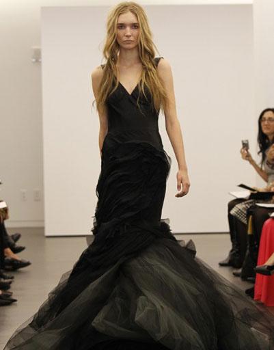 Свадебное платье Vera Wang, осень-2012