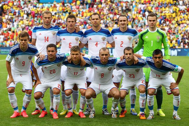 ЧМ 2014, сборная России