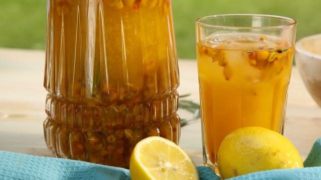 Облепиховый лимонад