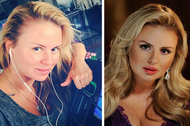 Анна Семенович без макияжа