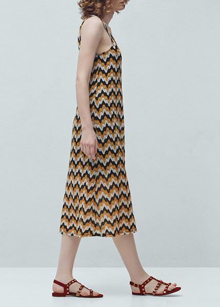 Платье, сандалии Mango, фото