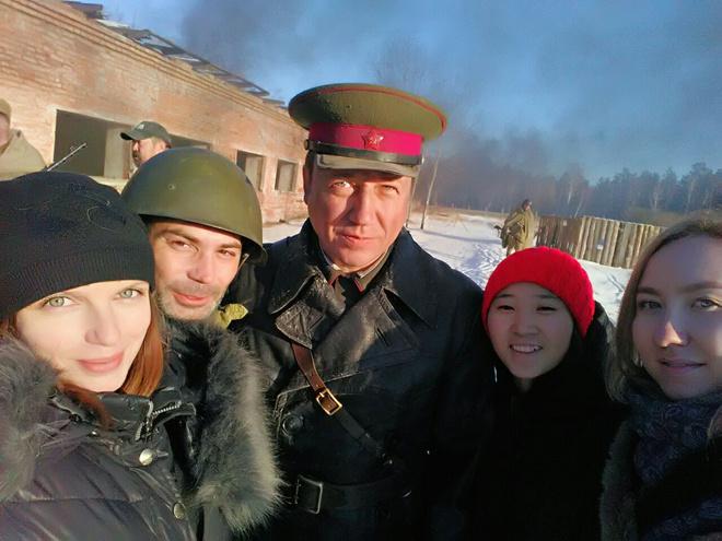 Георгий Дронов в Иркутске сыграл военного полковника