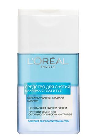 11. L'Oréal Paris Двухфазное средство для снятия макияжа;