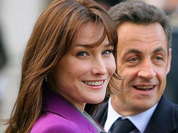 Отец Николя Саркози назвал дату родов Карлы Бруни (Carla Bruni)