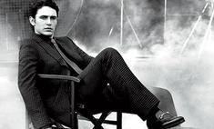 Джеймс Франко позирует для Gucci