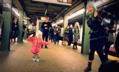 Малышка заставила танцевать всех вокруг