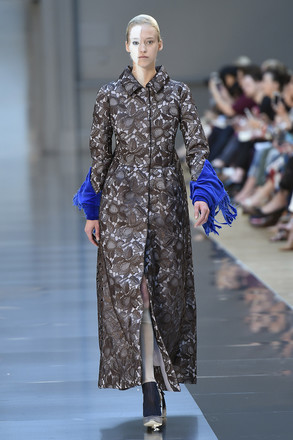 Неделя высокой моды в Париже осень-зима 2015 Maison Margiela