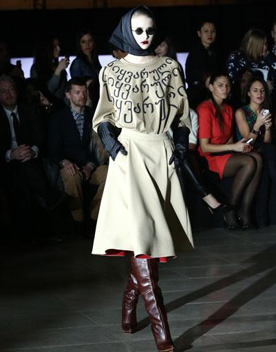 Показ коллекции BEssARION осень-зима 2013/14 на Mercedes-Benz Fashion Week Russia