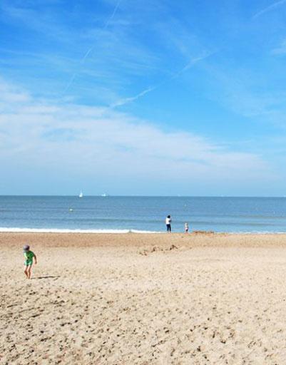 пляж в остенде