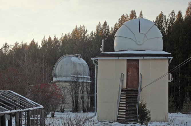 Коуровская обсерватория, фото