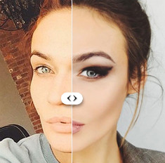 С макияжем и без: 7 звезд, которые без косметики не хуже