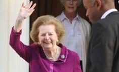 Маргарет Тэтчер отметила свой юбилей