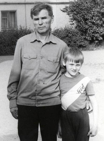 Степан Меньшиков, ведущий праздников, в детстве, фото