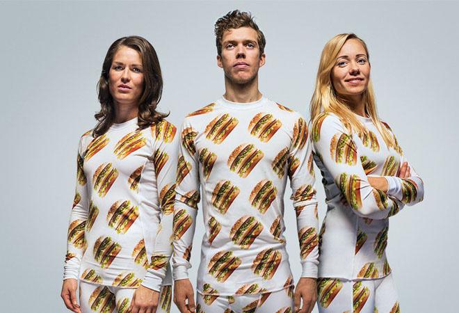 Одежда от McDonald's: фото
