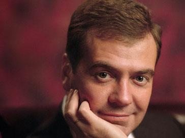 Дмитрий Медведев является активным пользователем Twitter