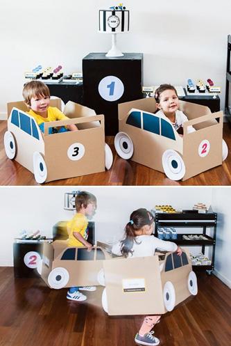 Мастер-класс по созданию автомобиля из картона