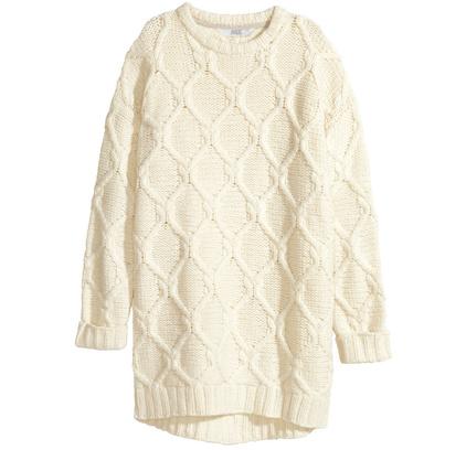 Платье-свитер H&M
