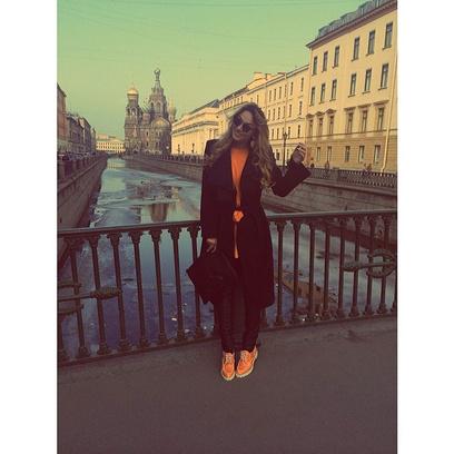 Алена Водонаева в Санкт-Петербурге