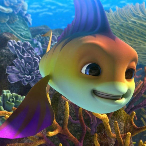 Голосом Никиты Преснякова говорит рыбка Пай