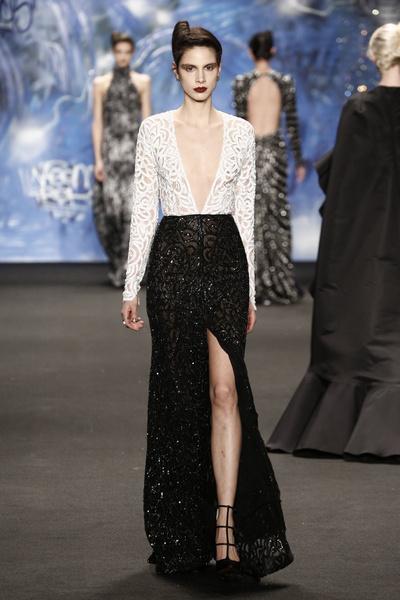 Самые роскошные вечерние платья Недели моды в Нью-Йорке | галерея [3] фото [6]