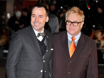 Элтон Джон (Elton John) и Дэвид Ферниш (David Fernish)