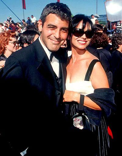 Клуни (George Clooney) и Карен Даффи (Karen Duffy)