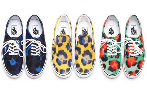Коллекция обуви Kenzo for Vans весна-лето 2013