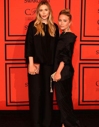 Элизабет Олсен (Elizabeth Olsen) и Мэри-Кейт Олсен (Mary-Kate Olsen)