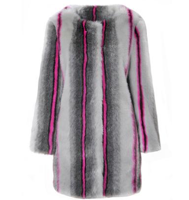 Пальто из искусственного меха Topshop, 4999 р.