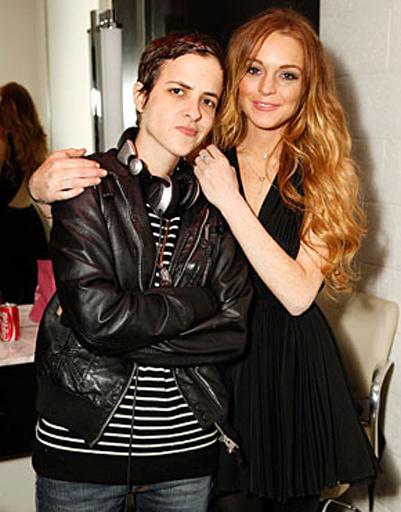 Линдсей Лохан (Lindsay Lohan) и Саманта Ронсон