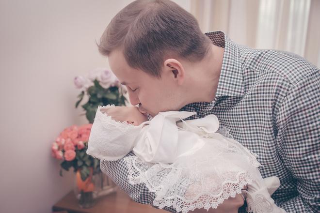 Галина Ржаксенская, муж и ребенок