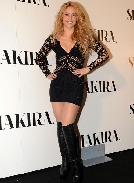 Шакира, 2014 год