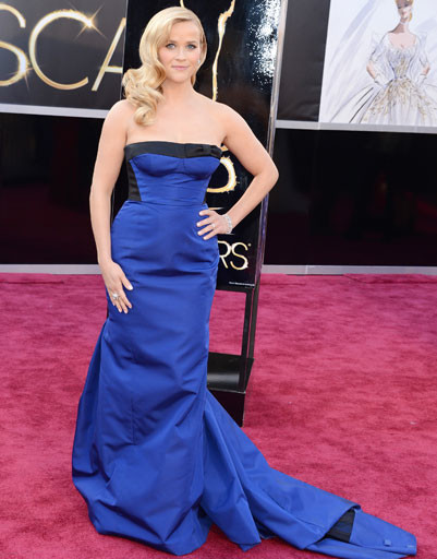 "Риз Уизерспун (Reese Witherspoon) на премии ""Оскар""-2013"