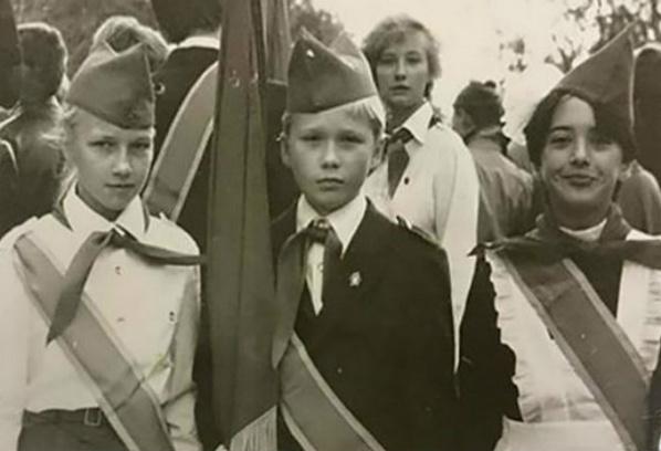 Жанна Фриске в школьные годы фото