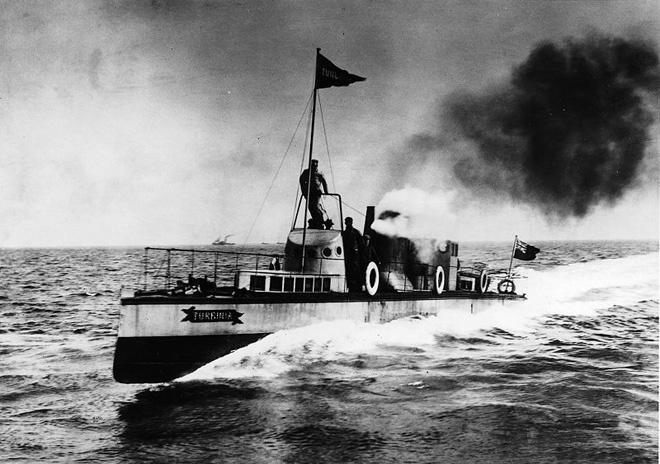 Turbina - один из первых пароходов