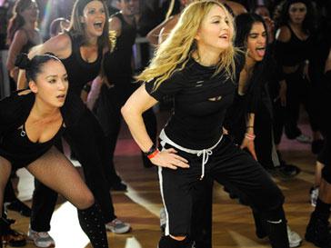 Мадонна (Madonna) открыла спортивный клуб в Мехико