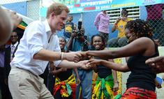 Принц Гарри станцевал на Ямайке под Боба Марли
