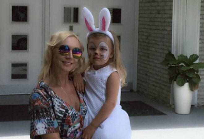 Кристина Орбакайте с дочкой: фото