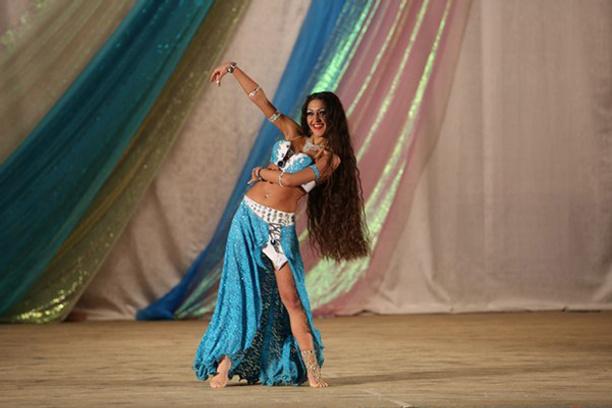 Сильвия Папикян самая обворожительная восточная танцовщица Самары