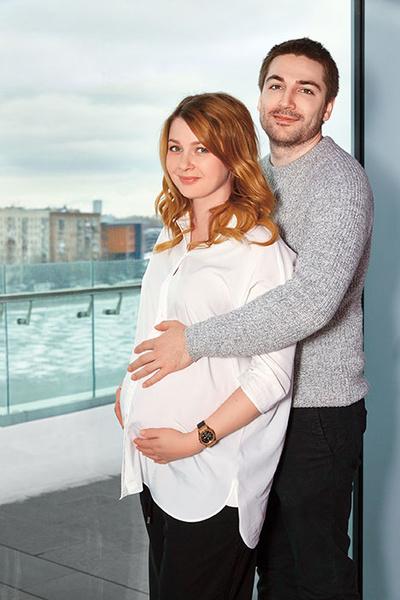 любава грешнова беременна фото