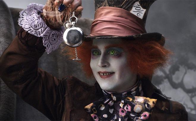 Джонни Депп, Алиса в стране чудес