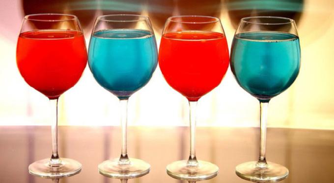 Яркие коктейли