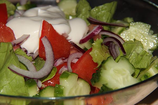Овощной салат с секретом