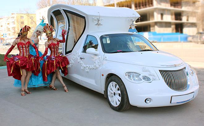заказ лимузина в Ростове