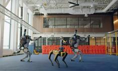 Тот неловкий момент, когда роботы Boston Dynamics танцуют на Новый год лучше тебя…
